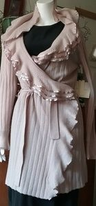 Cynthia Rowley 100% cashmere robe